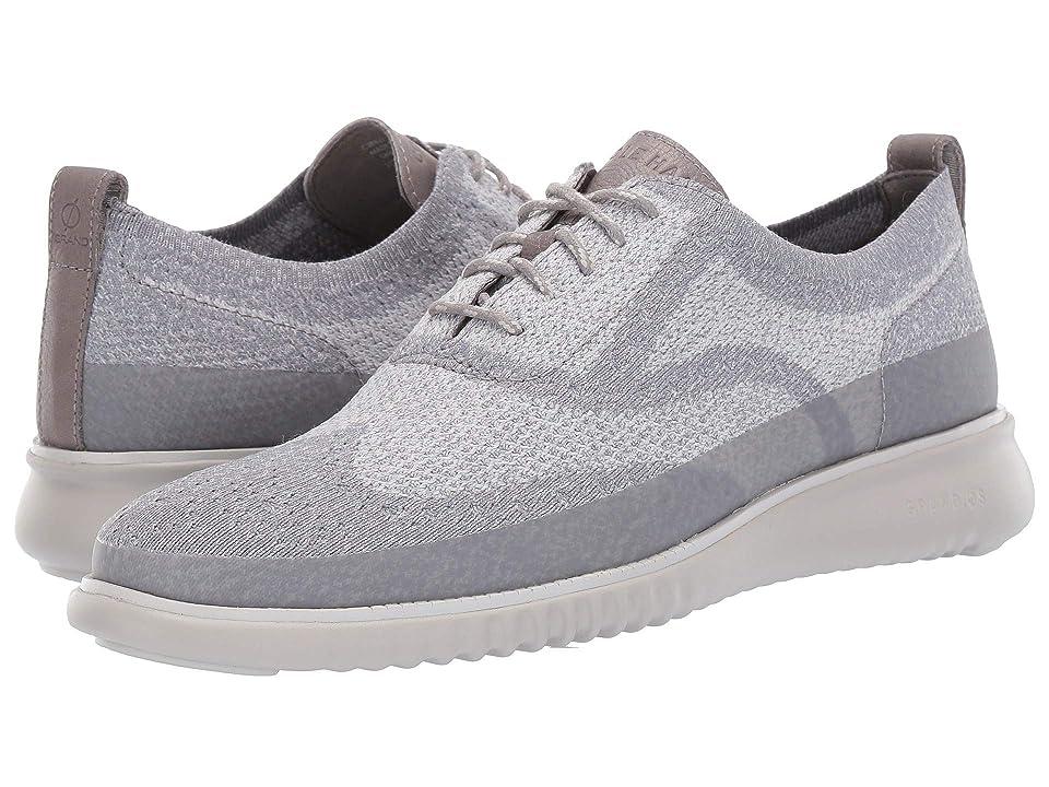 Cole Haan 2.Zerogrand Stitchlite Oxford Water Resistant (Magnet Knit/Vapor Grey) Men