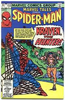 Marvel Tales #153 1983- Amazing Spider-man #15 1st Kraven reprint NM