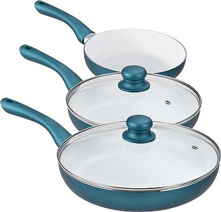 Amazon.es: Se puede usar en cocina de gas - Juegos de sartenes ...