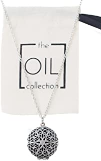 The Oil Collection Essential Oils Aromatherapy Diffuser Locket Necklace