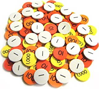 Essential Learning Products Class Set Place Value Discs