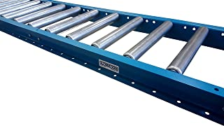 "Gravity Conveyor Frame & Rollers | 18"" x 5` Gravity Conveyor 