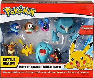BANDAI - Pokémon-Pack De 8 Figurines