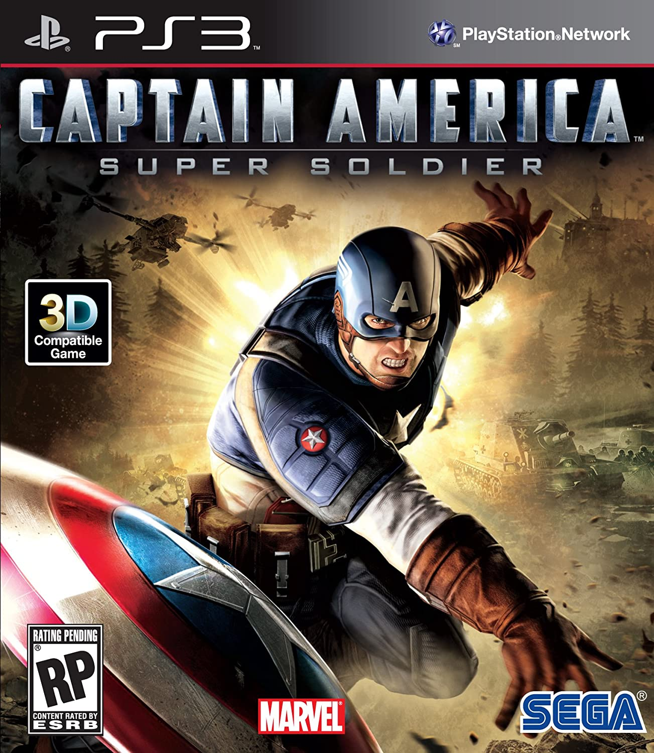 Captain America: Super Soldier Limited Special Price 3 Quantity limited - Playstation