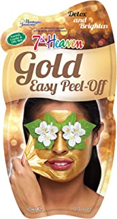 7th Heaven Gold Easy Peel-Off Face Mask with Ground