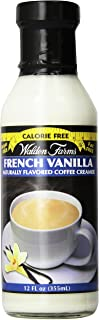 Walden Farms Coffee Creamers Calorie Free, Dairy Free, Carb Free And Vegan