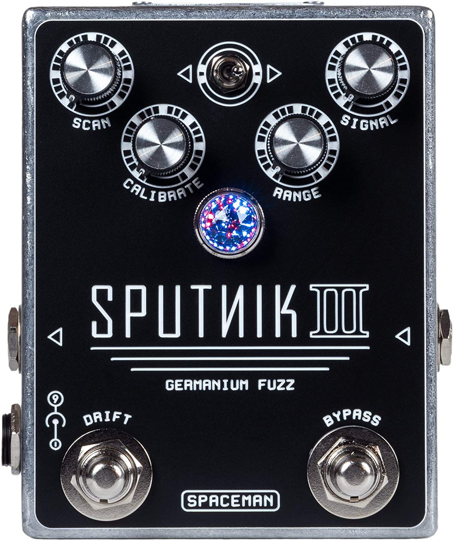 Spaceman Sputnik III Germanium Fuzz Guitar Rare with High order Pedal Effects SC