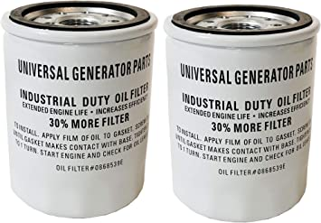 Universal Generator Part Air and Oil Filter Replacement Sets for 0J8478S and 070185E//070185D Air and Oil Filter for 0J8478S and 070185D