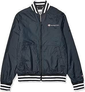 Champion LIFE Mens V1941550261 Satin Baseball Jacket Jacket