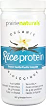 Prairie Naturals Organic Sprouted Brown Rice Protein Vanilla, 12.7 Ounce