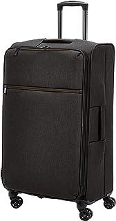 AmazonBasics Heathered Belltown Softside Luggage Spinner...