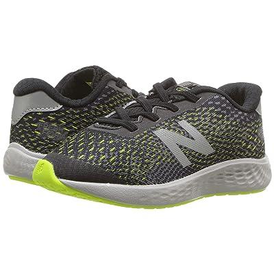 New Balance Kids KVARNv1 (Infant/Toddler) (Black/Hi-Lite) Boys Shoes