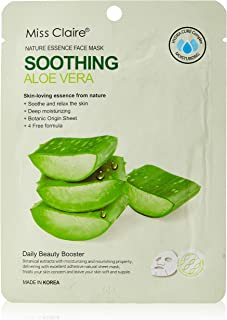 Miss Claire Miss Claire Face Mask Aloe Vera, White, 25 Milliliters, 25 ml