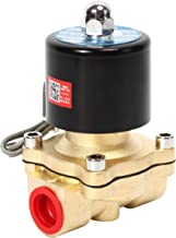 SNS 2W200-20/AC110V 3/4 NPT Brass Electric Solenoid Valve Normally Closed Water, Air, Diesel