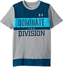 Dominate The Division Short Sleeve Tee (Big Kids)