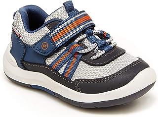 Stride Rite boys Srt Jasper Running Shoe, Grey, 6 Toddler US
