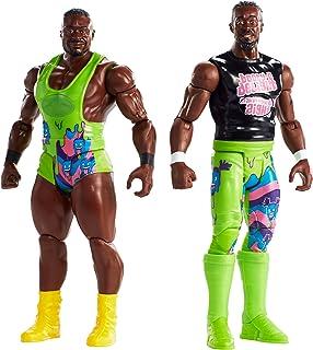 WWE Tough Talkers Total Tag Team Big E & Kofi Kingston, 2 Pack