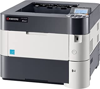Kyocera 1102T92US0 Model ECOSYS P3045dn Black & White Network Printer, 5 Line LCD Screen with Hard Key Control Panel, Up to Fine 1200 DPI Print Resolution, Wireless and Wi-Fi Direct Capability
