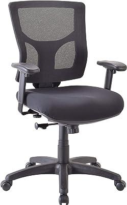 """Lorell Conjure Chair, 40.3"""" x 25.6"""" x 26.4"""", White"""