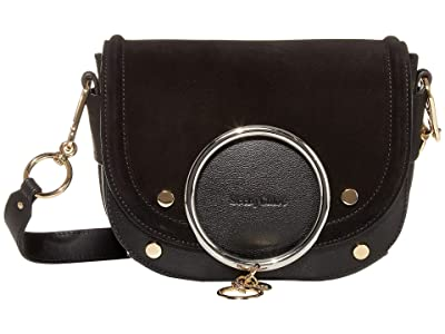 See by Chloe Mara Shoulder Bag (Black) Handbags