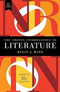Best norton intro to literature shorter with 2016 mla update Reviews