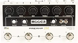Mooer Preamp Live - 多前置放大器踏板