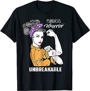 Psoriasis Warrior Unbreakable Shirt Psoriasis Awareness Gift