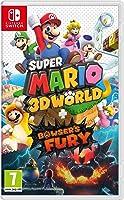 لعبة عالم سوبرماريو ثلاثي الابعاد + باوزر فيوري (نينتندو سويتش)