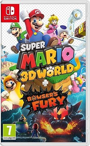 Amazon.nl-Super Mario 3D World + Bowser's Fury - Nintendo Switch - NL Versie-aanbieding