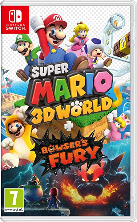 Super mario 3d world + bowser's fury - nintendo switch 10004580