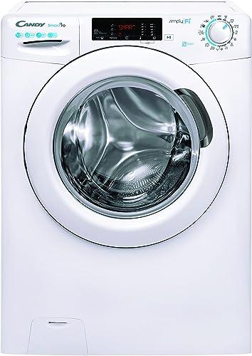 Candy Smart Pro CSO 14105TE/1-S Machine à laver 10 kg 1400 tr/min Fonction vapeur 9 programmes rapides Wi-Fi Bluetoot...