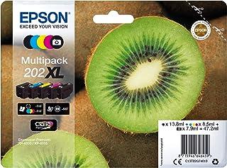 Originele Epson 202 XL inktcartridges, Multipack 5 Kleuren