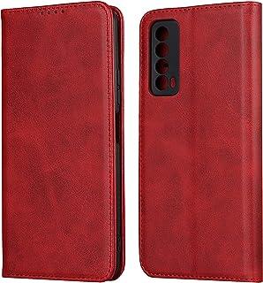 Flip Case Cover för Huawei P Smart 2021 (röd)