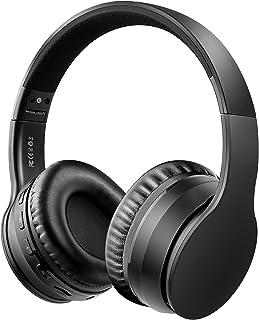 Ifecco Bluetooth5.0 Estéreo Auriculares Música Sobre-oído Sonido de alta fidelidad, Bluetooth Banda para la cabeza plegabl...