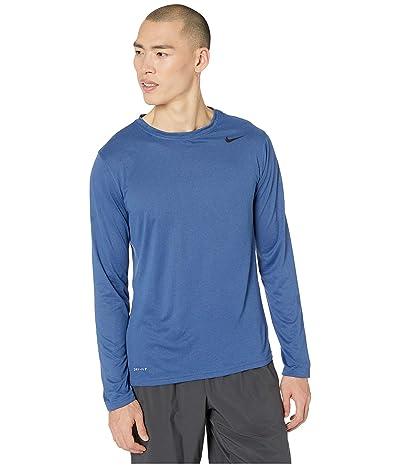 Nike Legend 2.0 Long Sleeve Tee (Mystic Navy) Men