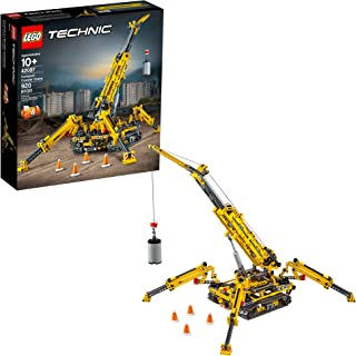 LEGO Technic Compact Crawler Crane 42097 Building Kit,...