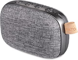 OG-EVKIN Portable Wireless Bluetooth Speakers V4.2, 33-Foot Bluetooth Range & Built-in Mic, Fabric Design Stereo Double Speakers Wireless Speaker