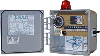 Tran-T2 Aerobic Septic Control Panel With Timer - With Pressure Sensor 3 Breaker