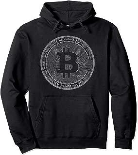 Bitcoin Coin Hoodie Distressed - Crypto - Satoshi Nakamoto