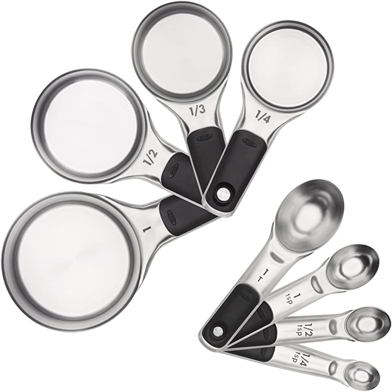 OXO 11180500 Good Grips Measuring Cups And Spoons Set Stainless Steel 2 9