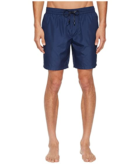 Dolce & Gabbana Mid Length Solid Swimsuit Boxer w/ Bag