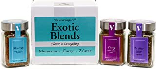 Exotic Blends – 3 spice blends from around the world.