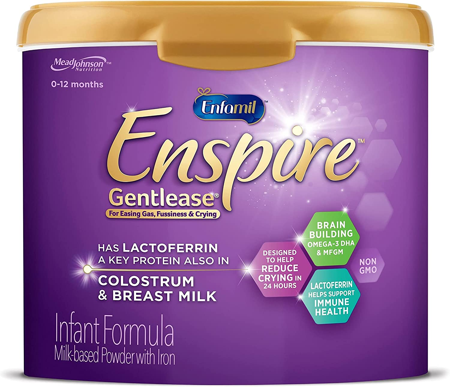 Enfamil Enspire Sales results No. Cheap mail order sales 1 Gentlease Baby with Formula Non-GM Lactofrerrin
