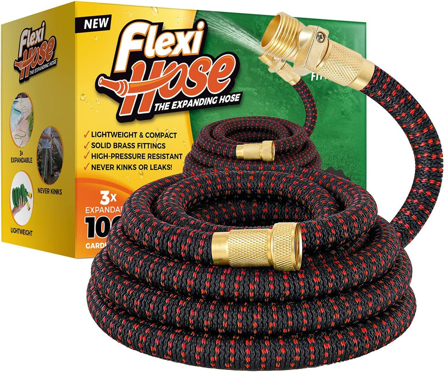 Flexi Hose Lightweight Expandable Max 85% OFF Flexibili 4 years warranty Garden No-Kink
