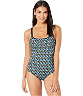 Vilebrequin - Feria Turtles Stars One-Piece Swimsuit