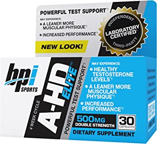 BPI Sports -A-HD Elite, 500mg, 30 Count