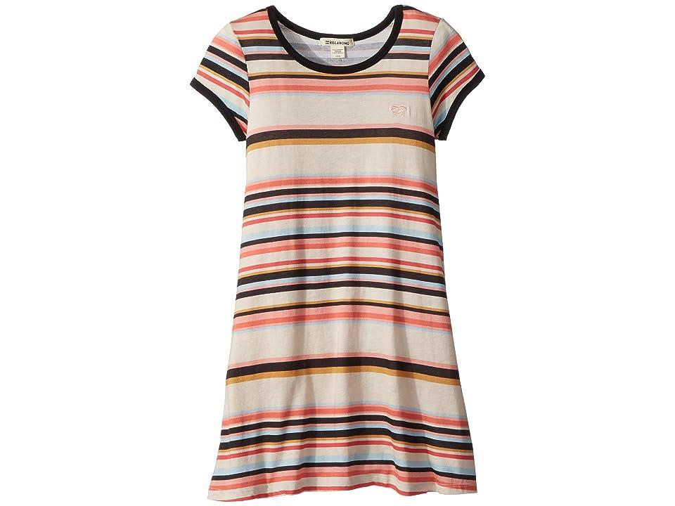 Billabong Kids Play Parade T-Shirt Dress (Little Kids/Big Kids) (Multi) Girl