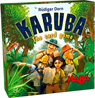 HABA Karuba the Card Game - An Exciting Adventure for 2-6 Treasure Hunters Ages 8+ (Made in Germany)