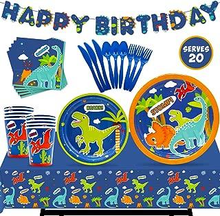 personalised dinosaur birthday banner