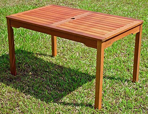 B00H6PMPSM✅International Caravan VF-4163-IC Furniture Piece Rectangular Dining Table